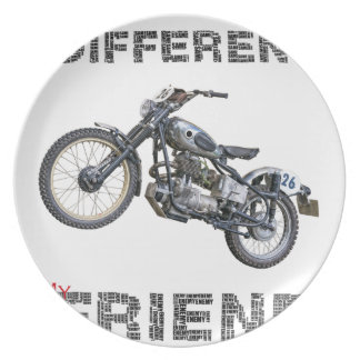 Im different motorcycle plate