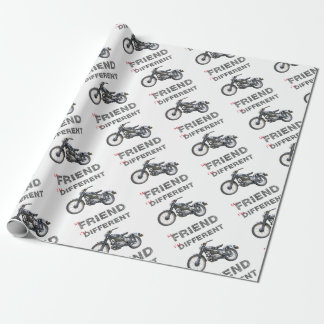 Im different motorcycle wrapping paper