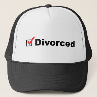 I'm Divorced And Available Trucker Hat