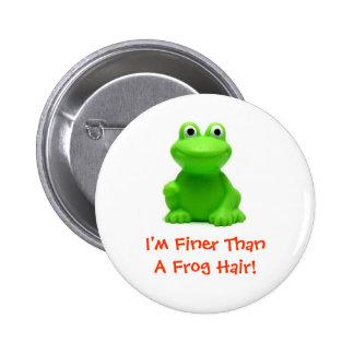 I'm doing just fine! 6 cm round badge