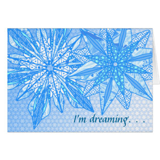 I'm dreaming - Customized Card