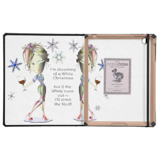 I'm Dreaming of a White Christmas,  Dodo iPad Case