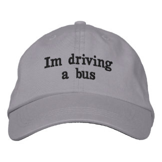 Im Driving A Bus Hat
