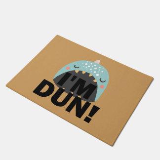 I'M DUN Monster Whale Doormat
