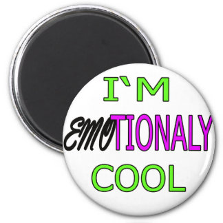 IM EMOTIONALY COOL funny Emo Electro Dance Refrigerator Magnets