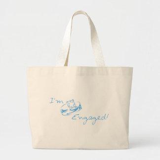 I'm Engaged (Blue Diamond Ring) Bags