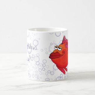 I'm Fabulous Whimsical Fish Artwork Coffee Mug