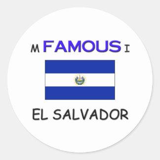 I'm Famous In EL SALVADOR Sticker