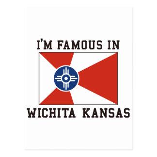 I'm Famous In Wichita Kansas Postcard