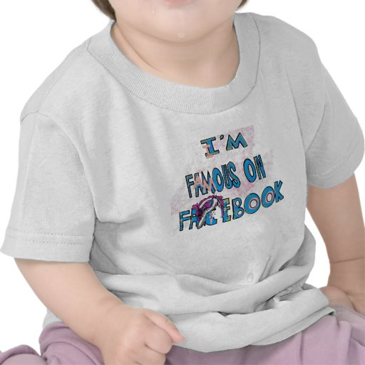 I'm Famouse on Facebook Scene Bunny Shirts & stuff