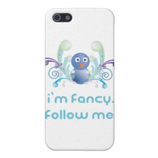 I'm Fancy. Follow Me. Twitter Design iPhone 5 Covers