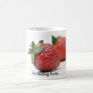 I'm Feeling Fruity Strawberry Mug