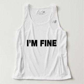 I'm Fine Singlet