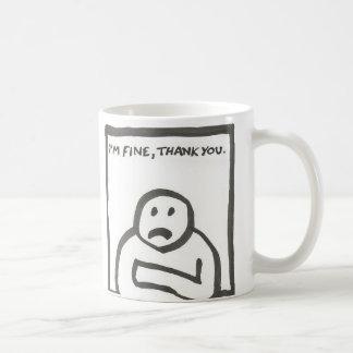 I'm Fine Thank You Coffee Mug
