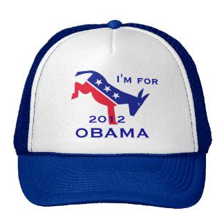 I'm for OBAMA hat