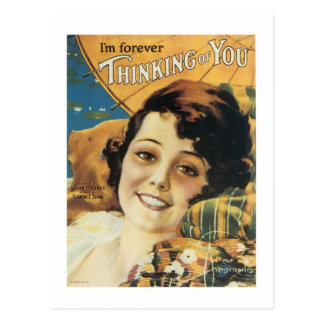I'm Forever Thinking of You Songbook Cover Post Cards