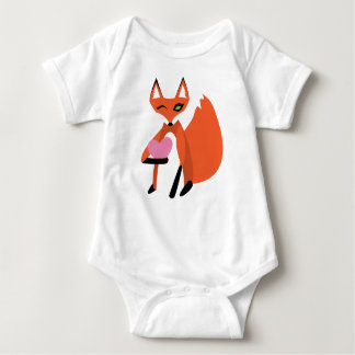 I'm FOXated on YOU Baby Bodysuit