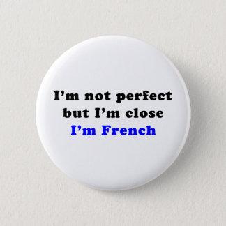 I'm French 6 Cm Round Badge