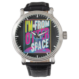 I'm From Otter Space - Cute Sea Novelty Watch