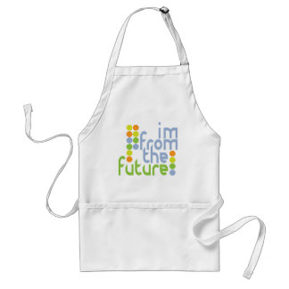 I'm From The Future Aprons