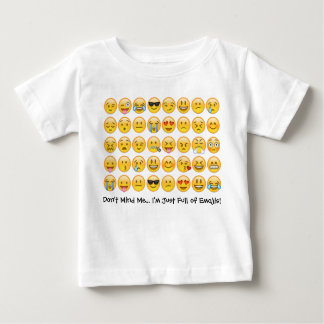 I'm Full of Emojis . . . Toddler Emoji Tee Shirt