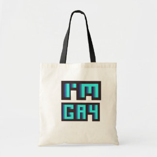 'I'm Gay' LGBT tote bag