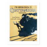 I'm Going Back to Chattanooga Tennessee Songbook C Postcards