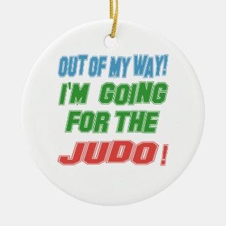 I'm going for the Judo. Ceramic Ornament