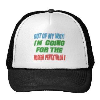 I'm going for the Modern Pentathlon. Trucker Hats