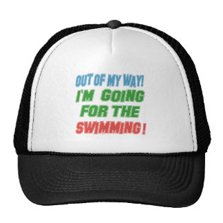 I'm going for the Swimming. Mesh Hat