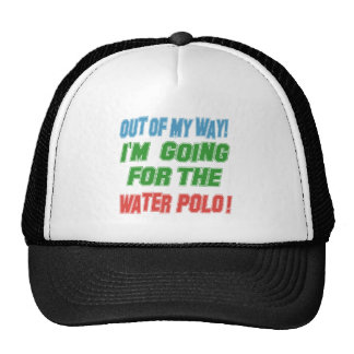 I'm going for the Water Polo Mesh Hats