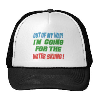 I'm going for the Water Skiing. Trucker Hat
