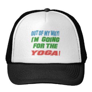 I'm going for the Yoga. Trucker Hat