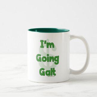 I'm Going Galt Two-Tone Mug