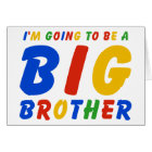 I'm Going To Be A Big Brother Card