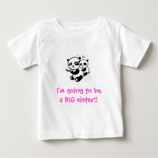 I'm going to be a BIG sister t-shirt