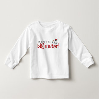 I'm going to be a big sister toddler T-Shirt