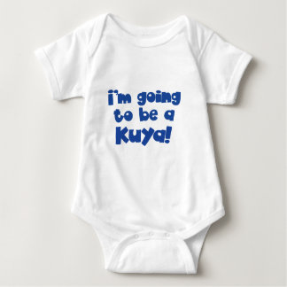 I'm going to be a Kuya! Baby Bodysuit