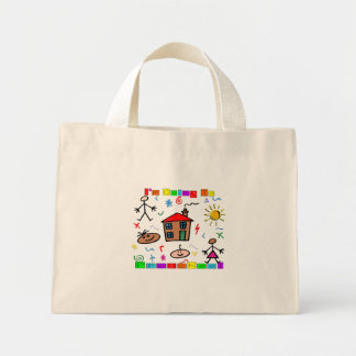 I'm Going to Preschool Canvas Bags