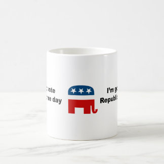 I'm going to vote Republican some day Coffee Mug