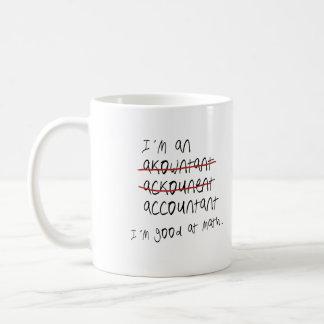 I'm good at math coffee mug