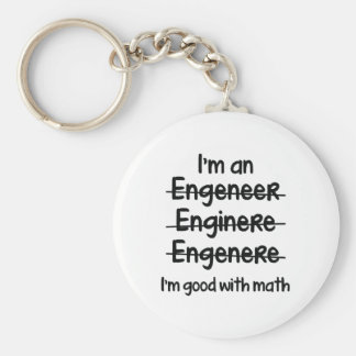 I'm Good With Math Key Ring