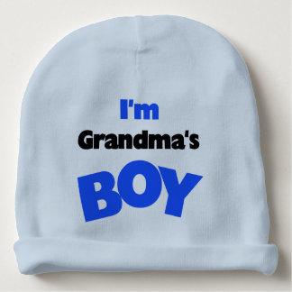 I'm Grandma's Boy Baby Beanie