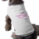 Im Grandmas Favourite Pink Dog T-shirt