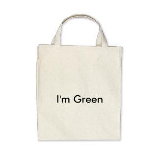 I'm Green reusable bag