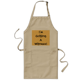 I'm Grilling A Witness! - Lawyer Joke Apron