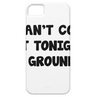 I'm Grounded iPhone 5 Cases