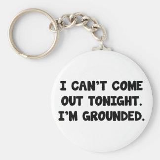 I'm Grounded Key Ring