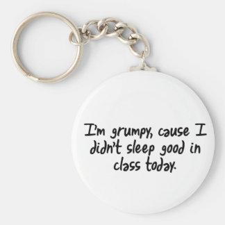 Im Grumpy Key Ring