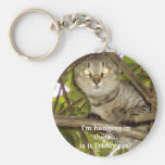 I'm hanging in there...is it Friday yet? Keychains
